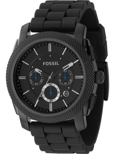 Reloj Fossil Fs4487 Cronógrafo 24 H Nuevo En Caja