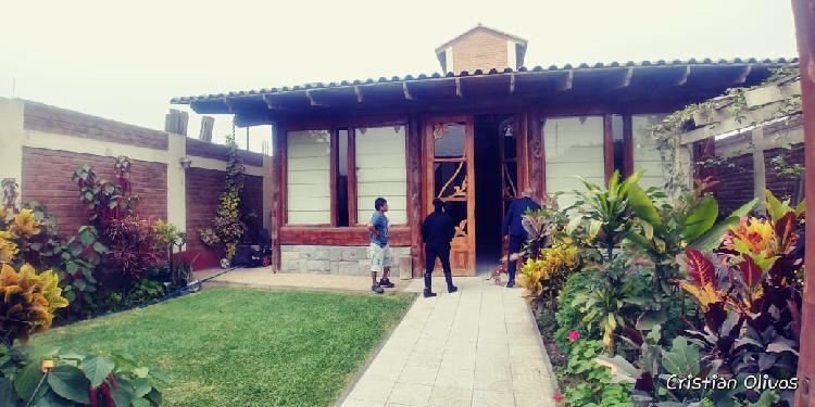 Venta de Casa de Campo en Cieneguilla