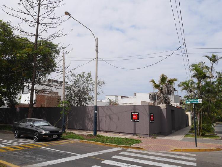 Venta de Terreno en San Isidro