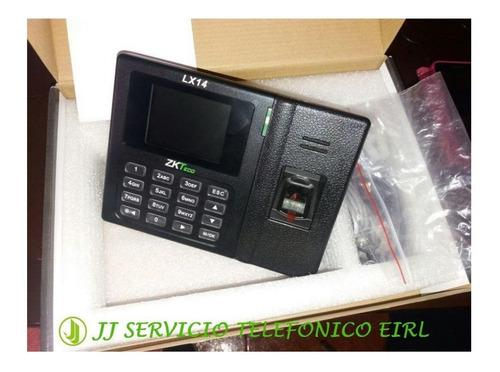 Zkteco Perú-control Lector Biometrico Asistencia Huella