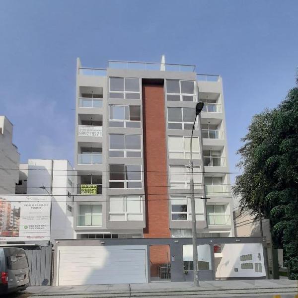 Alquiler de Departamento en Barranco 2 Dorm.
