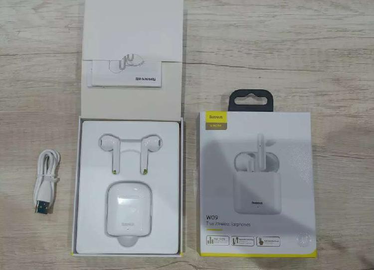 Auriculares Inalambricos Baseus W09 TWS Bluetooth Control