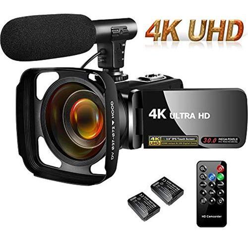 Cámara De Vídeo 4k 30mp Cámara De Videocámara Digital