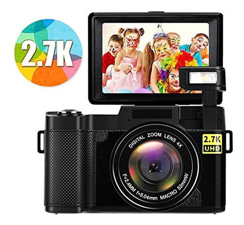 Cámara Digital 2.7k 24mp Ultra Hd Vlogging Cámaras Para