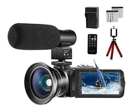 Cofunkool - Cámara De Vídeo 1080p Para Ytbe, Con Pantalla