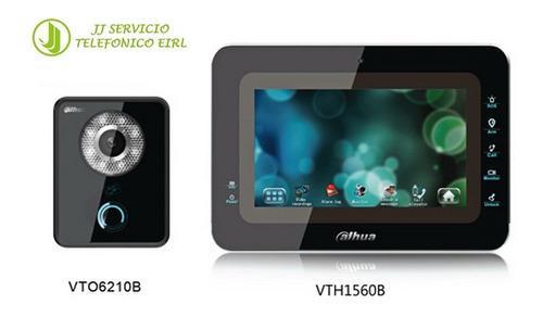 Dahua Peru - Kit Video Portero Ip Vto6210b Y Vth1560b Nuevos