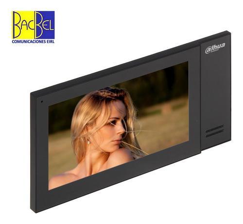 Dahua Video Portero Vth2421fb-p Monitor Ip Interior Tactil 7
