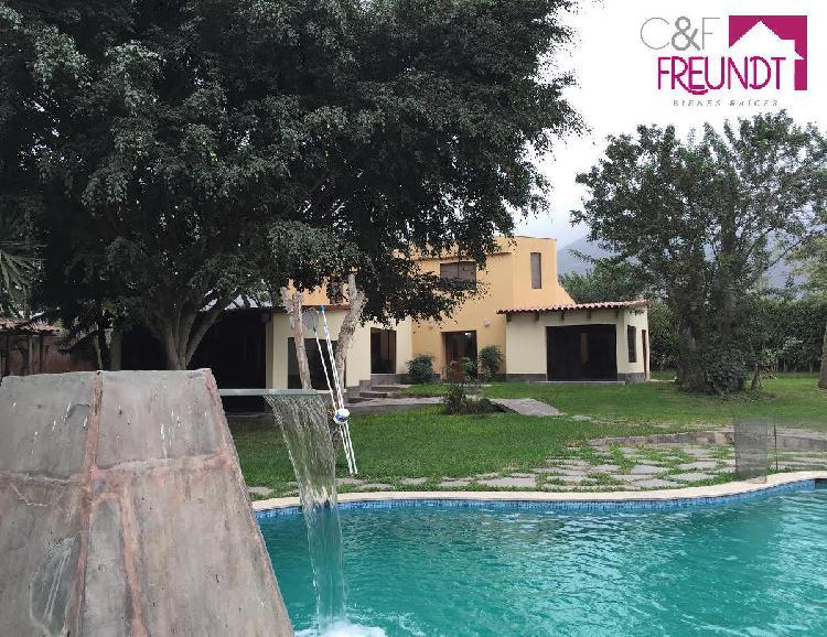 Venta de Casa de Campo en Pachacamac