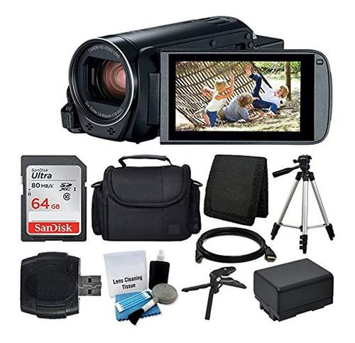Videocámara Canon Vixia Hf R800 + Tarjeta De Memoria