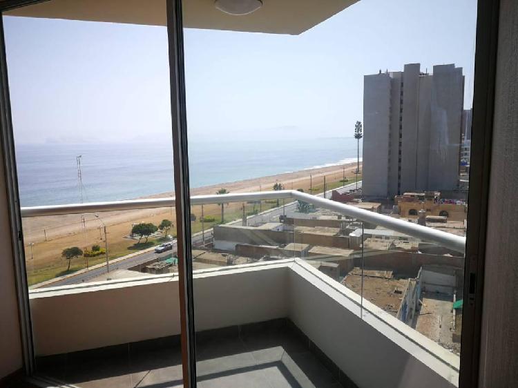 Alquiler Amplio Departamento Vista Al Mar en San Miguel