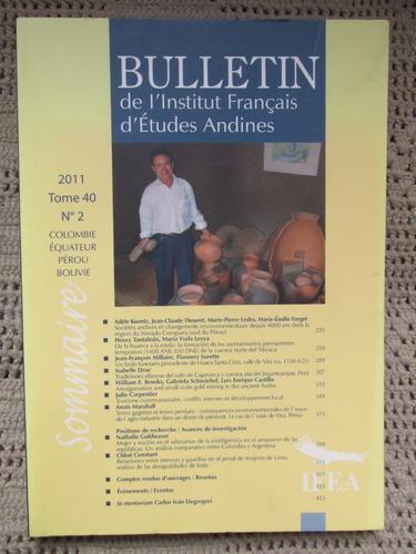 Bulletín Del Instituto Francés De Estudios Andinos Tomo