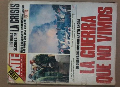 Gente, Revista Argentina La Guerra De Las Malvinas