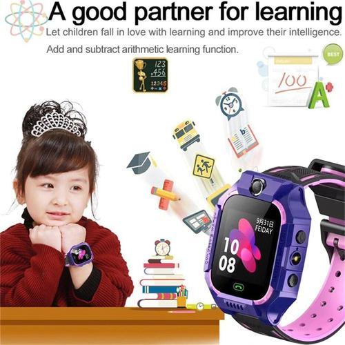 Reloj Gps Con Boton De Emergencia Para Niños