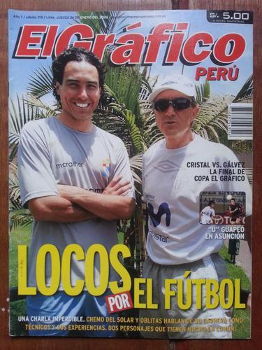 Revista El Grafico Peru Chemo Del Solar Juan Carlos Oblitas