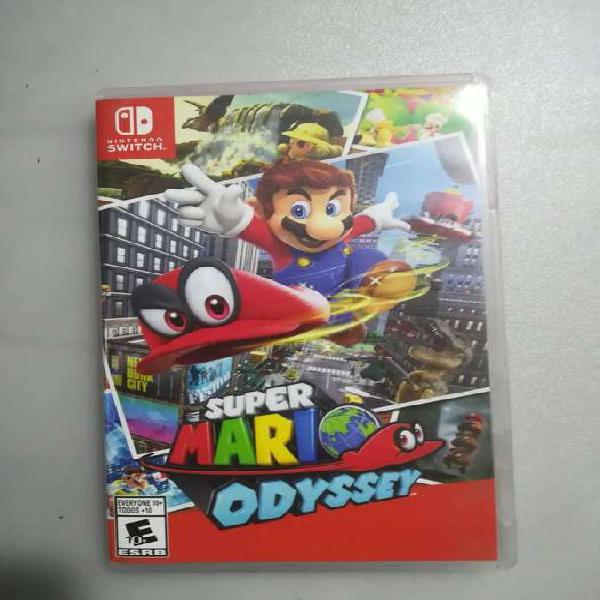 Super Mario Odyssey Nintendo Switch Usado