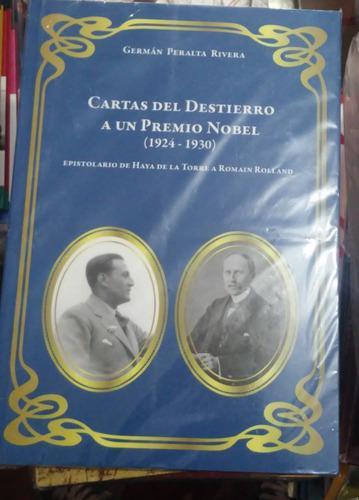 Cartas Del Destierro, Nobel Haya De La Torre German Peralta