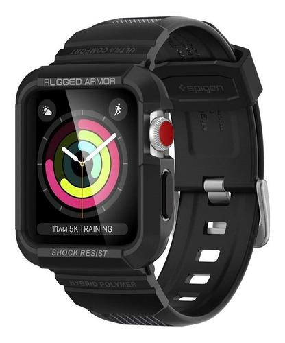 Case Funda Spigen Rugged Armor Pro @ Apple Watch 1 2 3 42mm