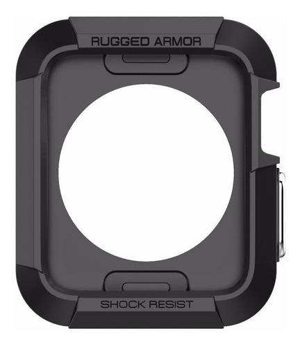 Funda Protector Spigen Rugged Armor @ Apple Watch 1 2 3 42mm