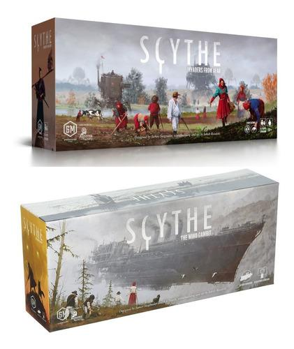 Juego De Mesa Scythe: Invaders From Afar & The Wind Gambit