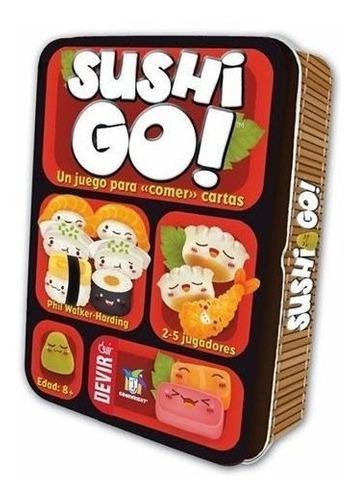 Juego De Mesa Sushi Go Español Original Nuevo Sellado