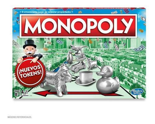 Monopolio Monopoly Clásico Original Nuevo Sellado Español