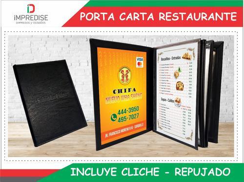 Porta Carta Menu Carta Bio Cuero Porta Menus Porta Documento