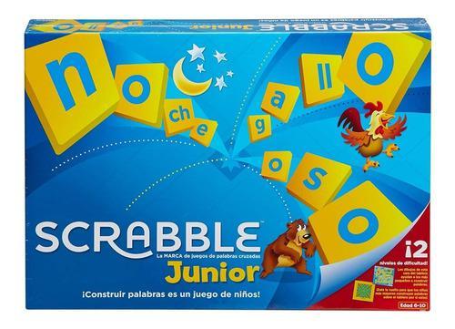 Scrabble Junior Juegos De Mesa Para Niños Mattel