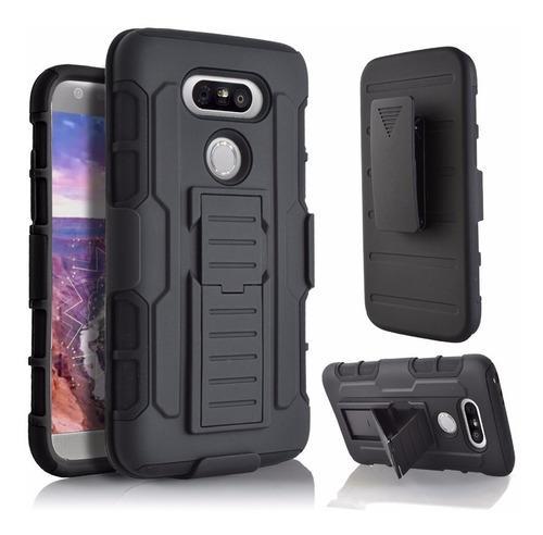 Case Armor LG G5 Carcasa Parante Holster Gancho Protector