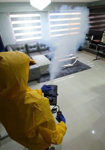 Maquina De Fumigacion De Humo Nebulizadora 400 W Con Control