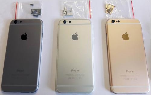 Tapa Posterior Carcasa Original iPhone 6 Aluminio Colores