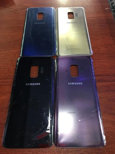 Tapa Posterior De Bateria Samsung S9 Original Colores Tienda
