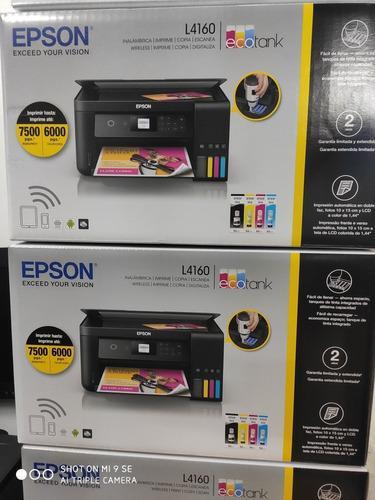 Impresora Epson Multifuncional Ecotank L4160