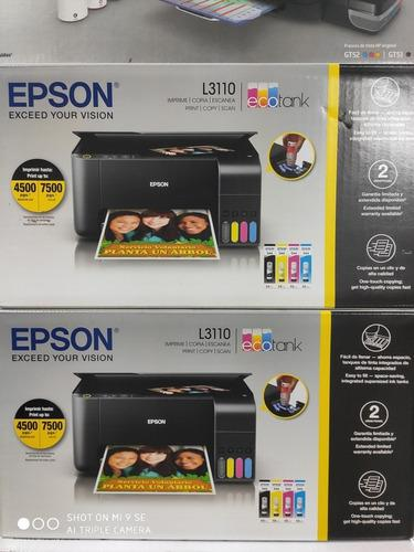 Impresora Epson Multifuncional L3110
