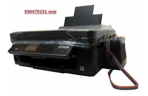 Impresora Epson Xp411 Con Sistema Continuo