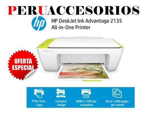 Impresora Hp Multifuncional 2135 Nuevo Imprime/scanea/copias