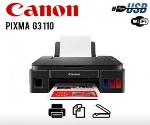 Impresora Multifuncional Canon G3110 Wifi