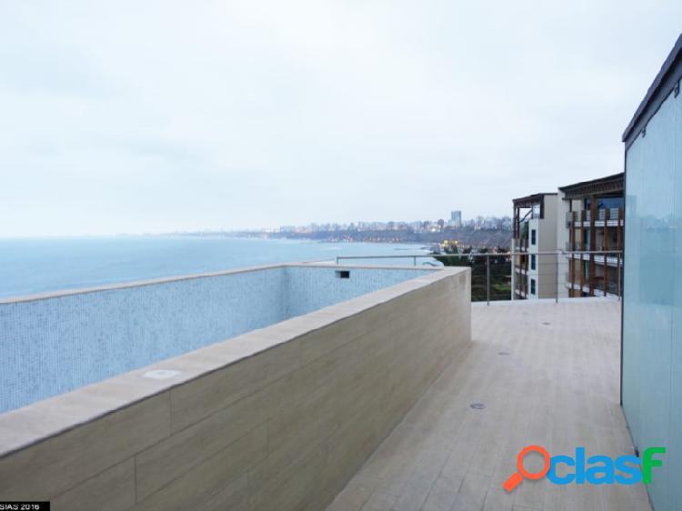 Penthouse en Venta en Barranco Exclusivo Hermoso con Vista