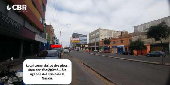 Alquiler de local comercial en la victoria en Lima