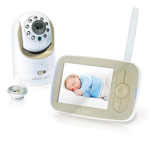 Infantil Óptica Dxr-8 Pan/tilt/zoom 3.5 Video Baby Monit