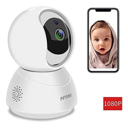 Monitor De Bebé 1080p Fhd Cámara De Seguridad Wifi