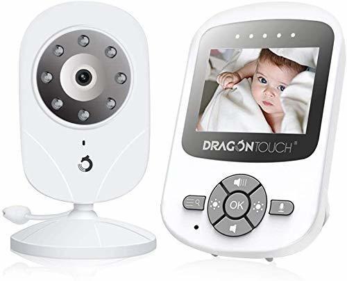 Monitor De Bebé, Dragon Touch Dt24 Pro Baby Monitor Con