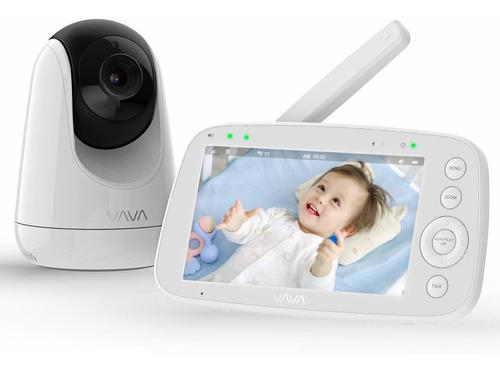 Monitor De Bebé, Vava 720p Ips Pantalla De Vídeo Para