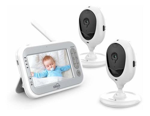 Monitor De Vídeo Para Bebé De 4,3 Con Dos Cámaras Y Una