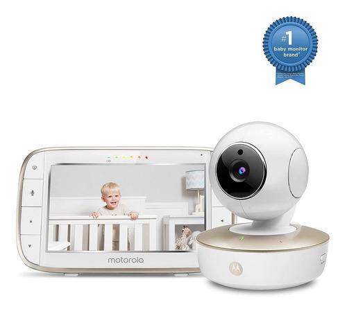 Motorola Video Baby Monitor - Cámara Hd Gran Angular Con