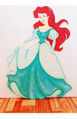 Princesa Sirenita En Mdf