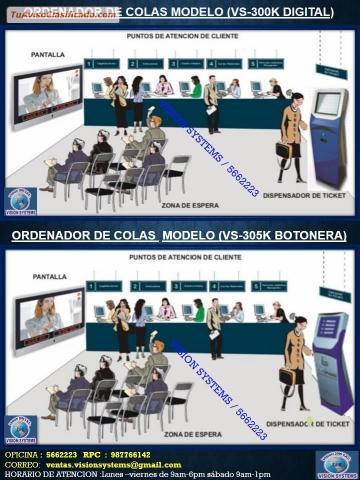 SISTEMAS DE COLAS MODELO VS 300K en Callao