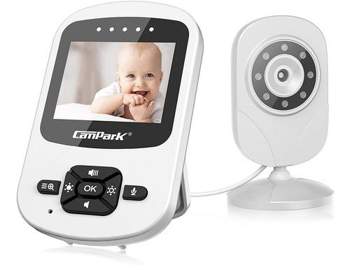 Video Monitor Bebé Con Cámara Y Audio Bebé Digital Cam