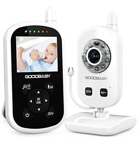 Video Monitor Para Bebés Con Cámara Y Audio: Visión