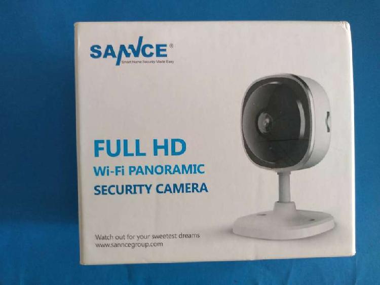 Cámara de seguridad OJO DE PEZ SANNCE 1080 p HD, cámara IP