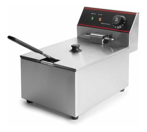 Freidora Electrica Canastilla Canasta Tolva Papas Broaster